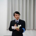 理念唱和の宇田川晃一さん