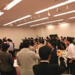 東京経営研究会20周年記念例会第二部乾杯